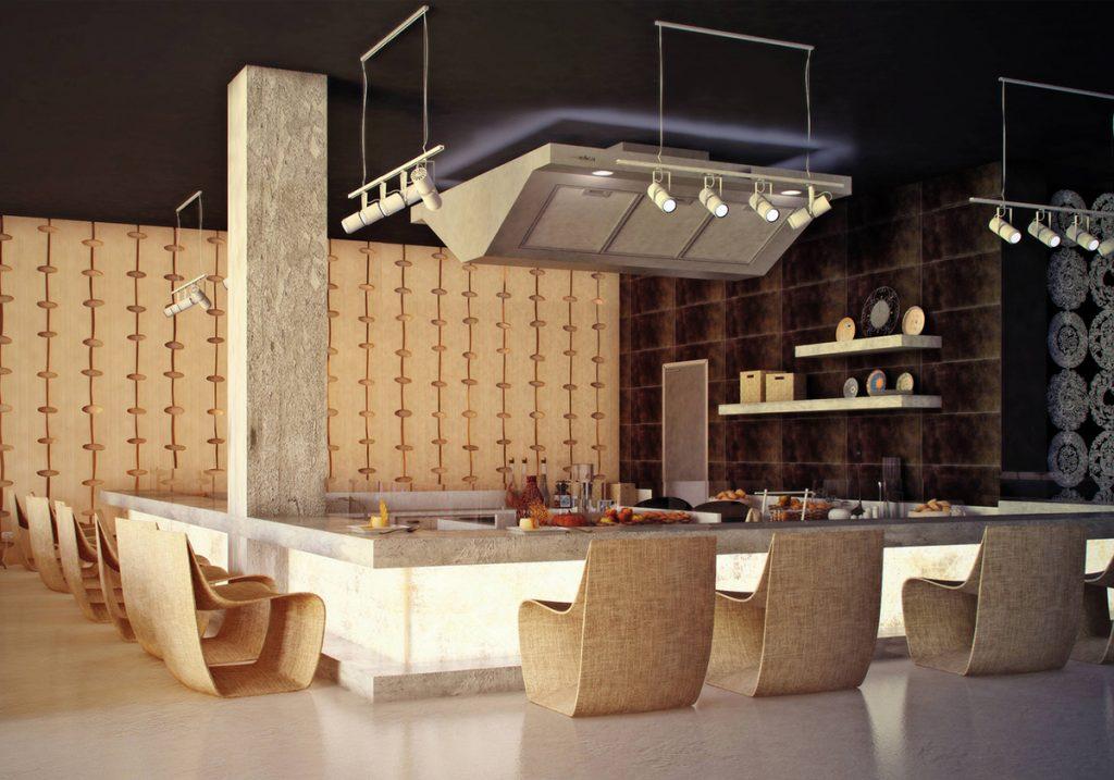 Diner hall